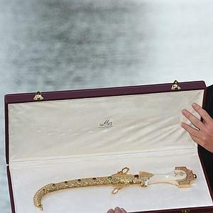 David Horsey after winning the 2011 Hassan II Trophy