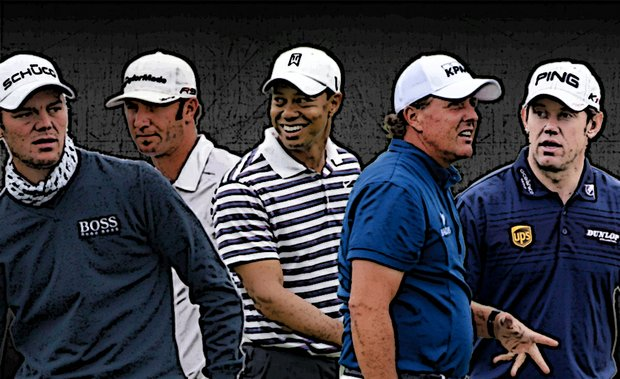 Martin Kaymer, Dustin Johnson, Tiger Woods, Phil Mickelson and Lee Westwood are all viable options in Golfweek's Major Challenge, which launched on April 3, 2011.