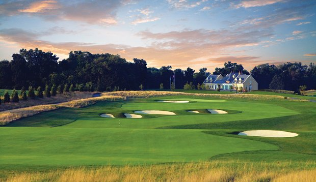 The ninth hole of the Links Course at Hershey Country Club