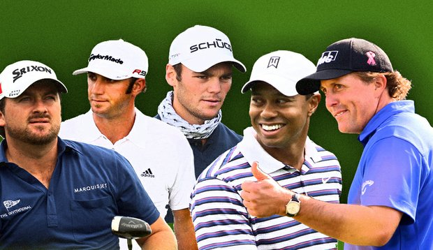 Graeme McDowell, Dustin Johnson, Martin Kaymer, Tiger Woods and Phil Mickelson will be among the popular picks in the Golfweek Major Challenge.