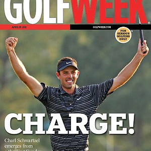 Charl Schwartzel wins the Masters (April 15, 2011)