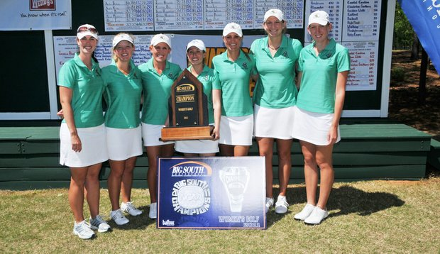 Coastal Carolina after winning the Big South Conference Championship.