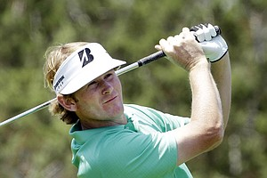 Brandt Snedeker during Round 3 of the Valero Texas Open.
