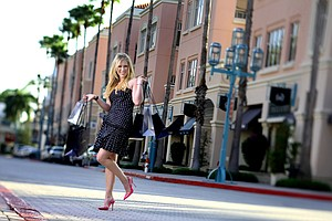 Morgan Pressel during a photoshoot in south Florida for Golfweek for Her.