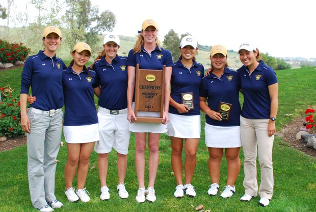 UC Davis after its record-setting Big West Conference Championship win.