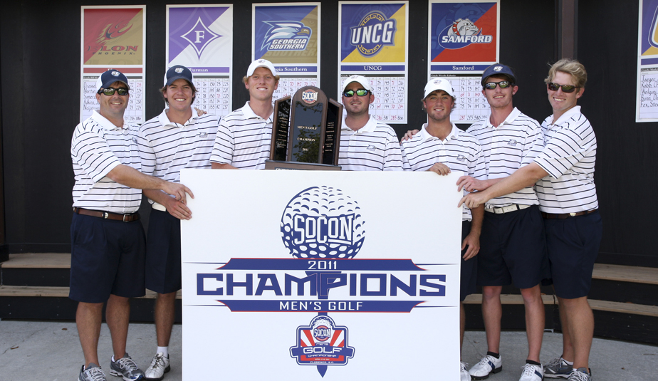 Georgia Southern after winning the Southern Conference Championship.