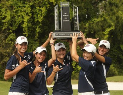 Texas El Paso after capturing the first Conference USA title in program history.