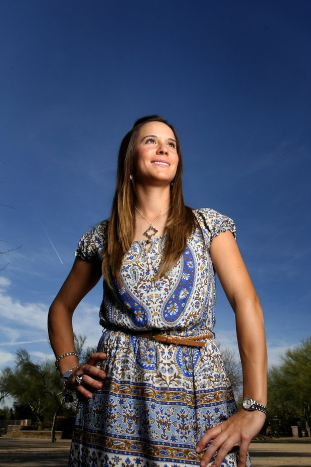 Azahara Munoz at a Golfweek For Her photoshoot in Arizona.