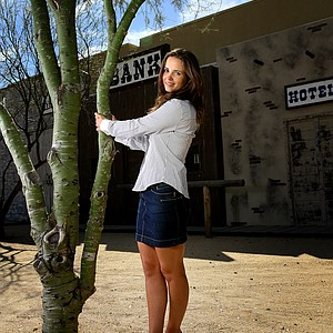 Golfweek For Her: Beatriz Recari at a Golfweek For Her photoshoot in Arizona.