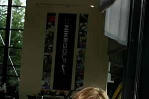 Nike's Cindy Davis at work in Oregon.