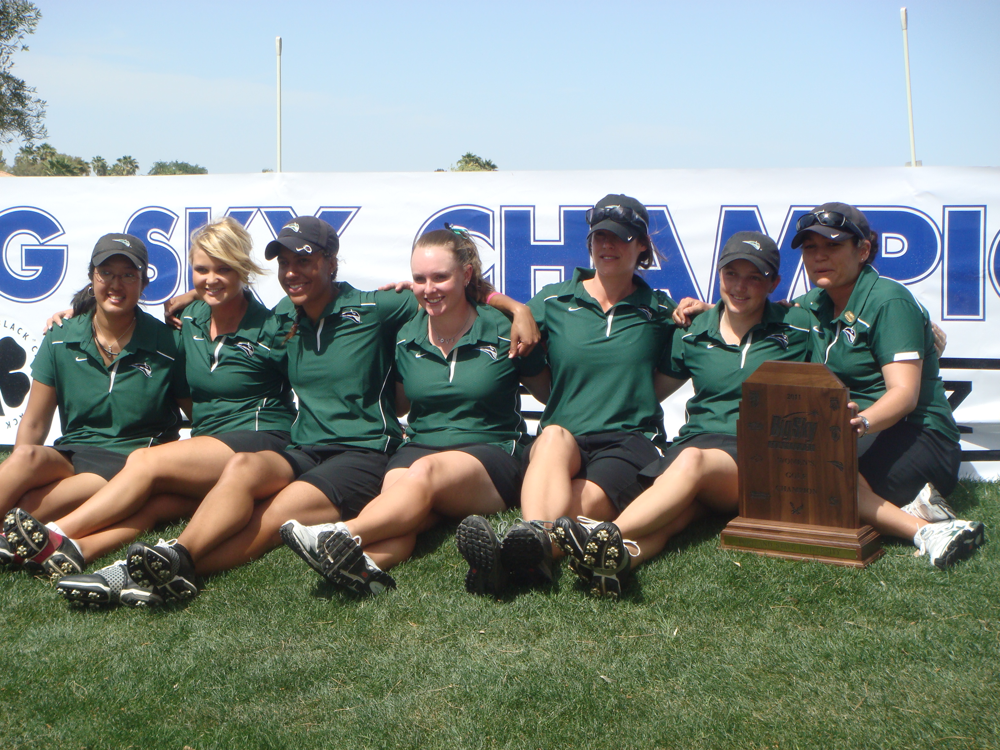 Portland State after the Big Sky Conference Championship.