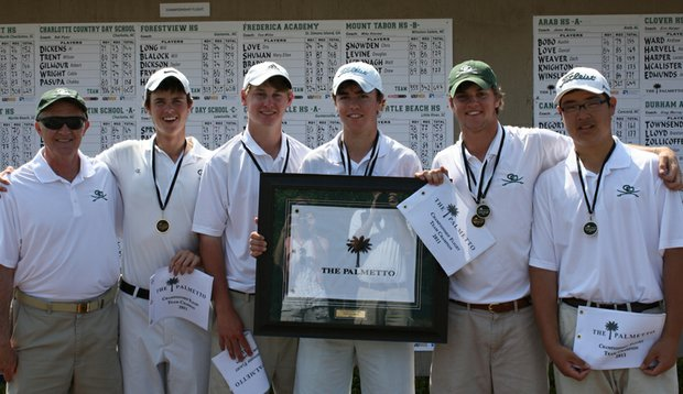 Charlotte Country Day after winning the Palmetto High School Championship.