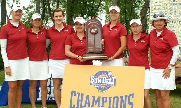 Denver won its eighth consecutive Sun Belt Championship.