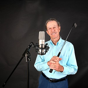 Dave Ragaini has had many accomplishments behind the mike and with a golf club.
