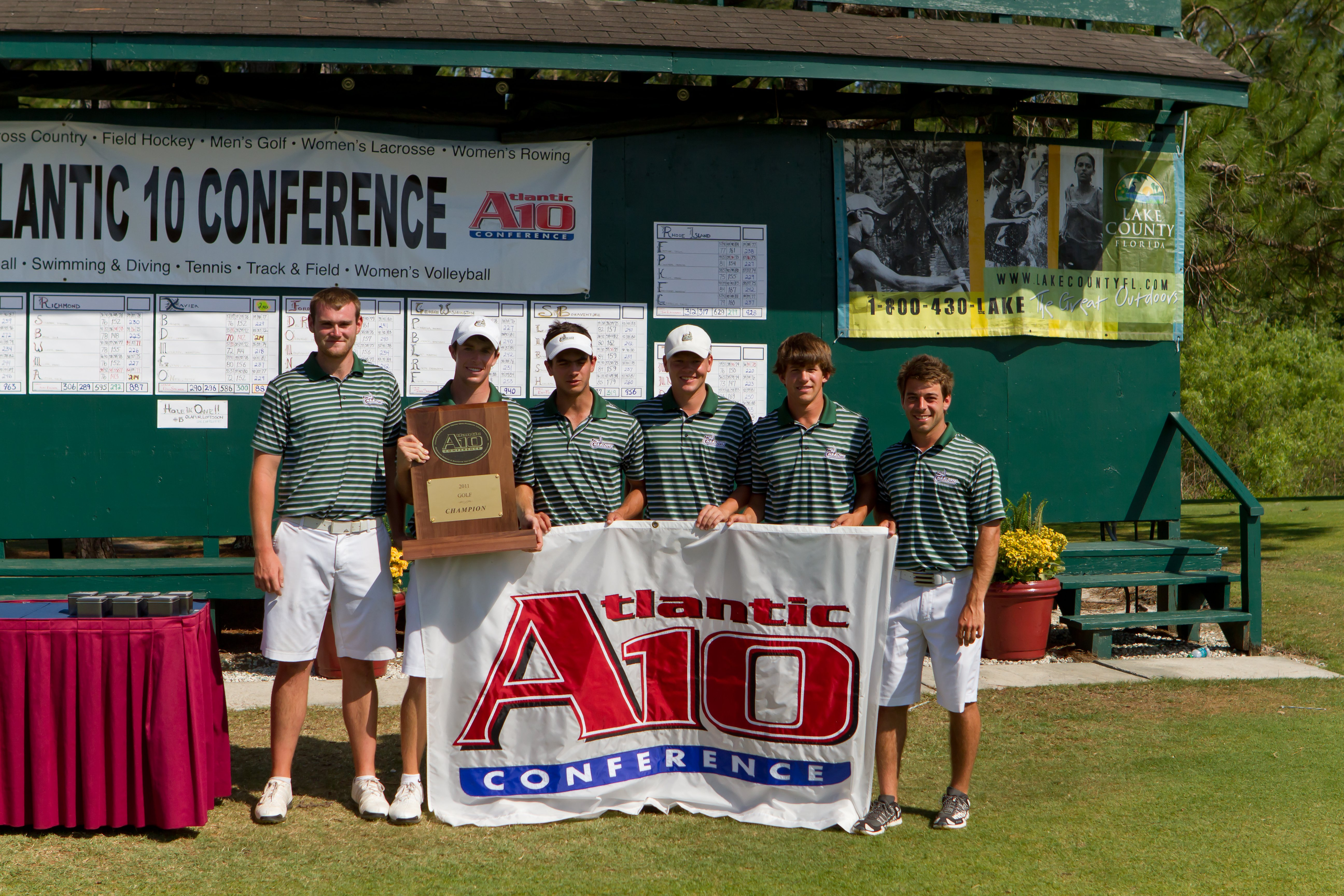Charlotte won the Atlantic 10 Conference Championship.