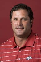 University of Arkansas head coach Brad McMakin.