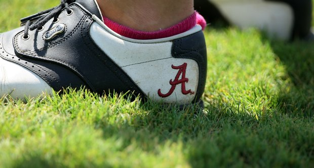 Alabama is playing in the Women's NCAA East Regionals and in second place after Round 1.