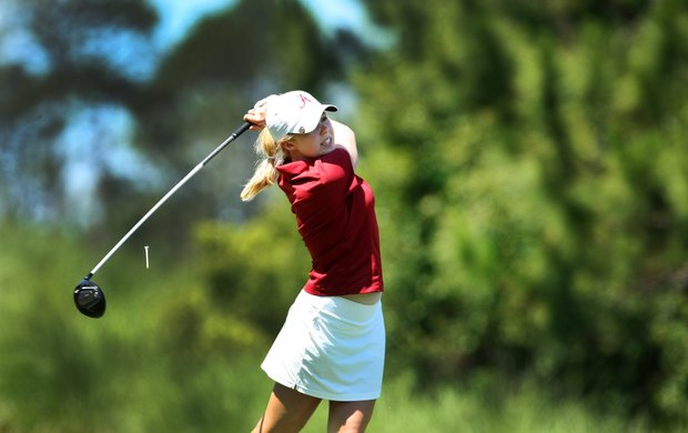 University of Alabama's Stephanie Meadow shot a three-day total 207 at the Women's NCAA East Regionals.