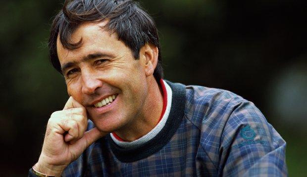 Spanish golfer Seve Ballesteros, seen in a January 1996 portrait.