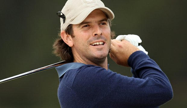 Thomas Aiken of South Africa during the third round of the Spanish Open.