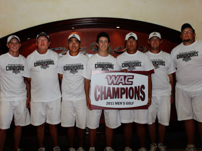 New Mexico State after winning its fourth consecutive Western Athletic Conference title.