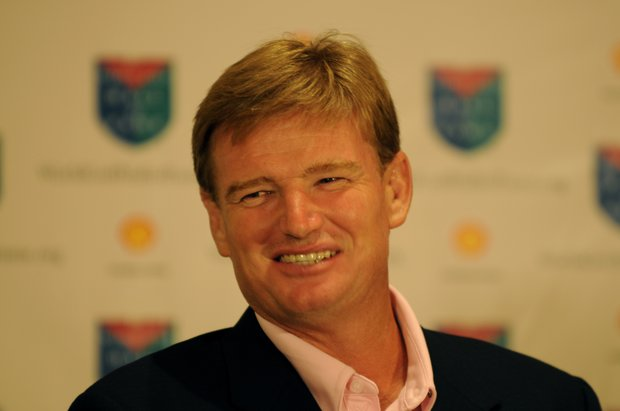 Ernie Els was one of six inductees into the World Golf Hall of Fame on Monday.