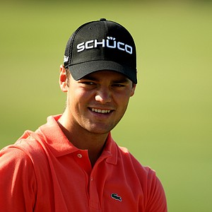 Martin Kaymer of Germany in action during a practice round prior to the start of THE PLAYERS on the Stadium Course at TPC Sawgrass on May 5, 2009 in Ponte Vedra Beach, Florida.
