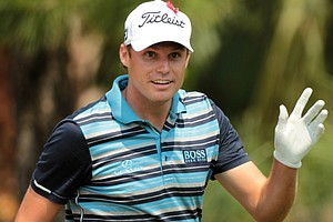 Nick Watney after opening with 8-under 64 at The Players Championship.