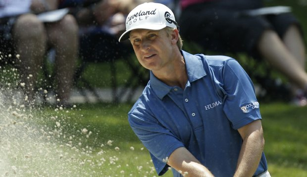 David Toms during Round 2 of The Players Championship.