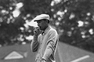 Ben Hogan is seen during the 1953 U.S. Open Championship in Oakmont, Pa.