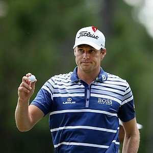 Nick Watney at No. 3 on Sunday during the final round of the The Players Championship.