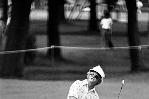 Golfer Tom Kite is seen during the U.S. Open Golf tournament at the Southern Hills Country Club, Tulsa, Okla., June 1977.