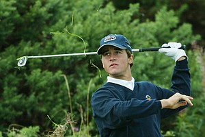United States Walker player Casey Wittenberg, from Memphis, Tenn., plays out of the rough on the 15th final day's play at the Ganton Golf Club in North Yorkshire, England, Sunday Sept. 7, 2003. Adam Rubinson was playing with Casey Wittenberg in the morning foursomes against Britain and Irleand's Stuart Wilson and David Inglis, the match ended all sqaure. The Walker Cup is played by the top amateur golfers from Britain and Ireland against the United States. The US lost the hole.