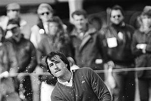 April 27, 1986 - Severiano Ballesteros in play around 1987.