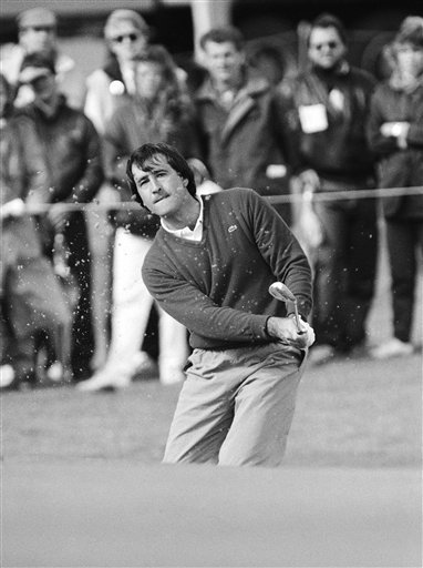 April 27, 1986 - Severiano Ballesteros in play around 1987.