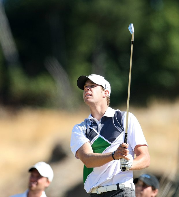 Kevin Tway during the 110th U.S. Amateur Championship at Chambers Bay in University Place, WA.