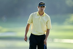 Georgia Tech's James White during Tuesday stroke play at the 2011 NCAA Division I Men's Golf Championship.