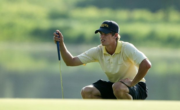 Georgia Tech junior James White during Tuesday's opening round of the NCAA Championship.