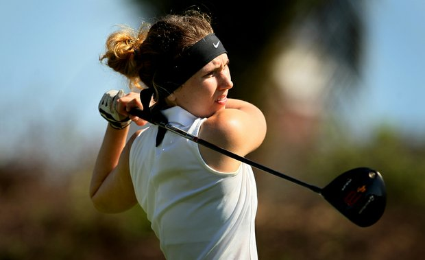 Kendall Prince during the first round of the Annika Invitational at Reunion Resort.