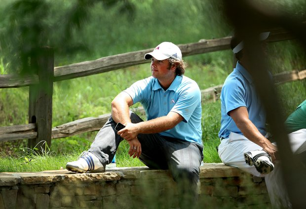 Augusta State senior Patrick Reed after shooting a second-round 75 at Karsten Creek.