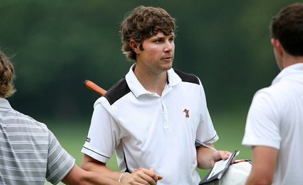 Oklahoma State junior Peter Uihlein after finishing his second round of the NCAA Championship.