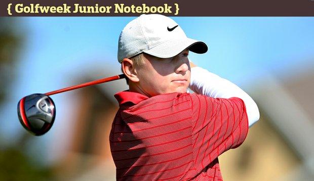 Brad Dalke during the Golfweek East Coast Junior Invitational at Reunion Resort.