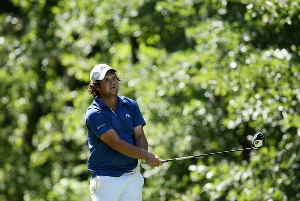 Augusta State's Patrick Reed during the finals of Sunday's Match Play at the 2011 NCAA Division I Men's Golf Championship at Karsten Creek in Stillwater, Oklahoma. Reed won his watch, 2 and 1.