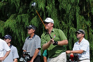 J.B. Holmes fired rounds of 71 and 69, but finished three shots off the playoff for the final three spots in the 2011 U.S. Open.