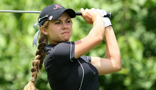 Kathleen Ekey during the final round of the 2009 NCAA Championship.