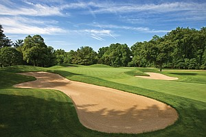 The fifth hole of the Blue Course at Congressional Country Club as seen on Friday, May 21, 2010 in Bethesda, Md.