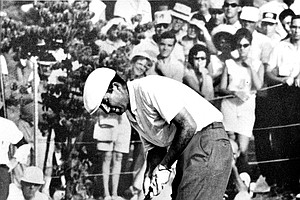 Ken Venturi captured the 1964 U.S. Open title, getting his life on and off the course back on track.