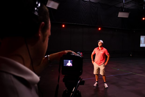 Edoardo Molinari provides an exclusive interview to Golfweek after concluding a two-hour motion-capture session for EA Sports. Molinari had nearly 150 swings captured by the development team, which will be used in the EA Sports Tiger Woods PGA TOUR '13 game.