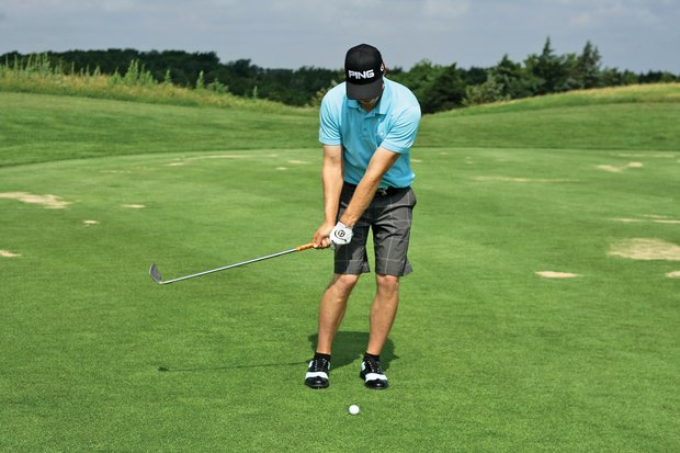Like his full swing, Mahan practices