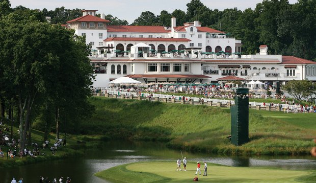 Congressional's clubhouse